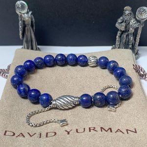 David Yurman Spiritual Bead Blue Laspis Lazuli